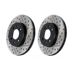63059-LX-Stop Tech 05-13 Chrysler300/300C / 09-12 Dodge Challenger Front Left Drilled & Slotted Rotor