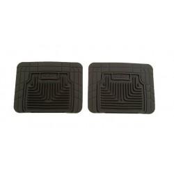 GTO Husky Liners Heavy Duty Black Rear Floor Mats