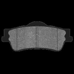 HB607F.616 Rear Hawk HPS Brake Pads