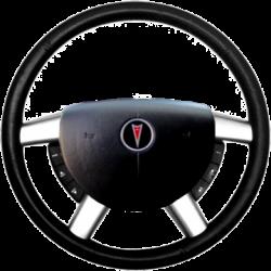 GTO Steering Wheel Trim - OE Silver