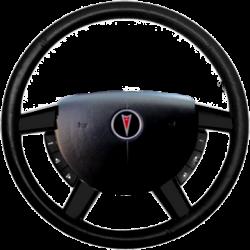 GTO Steering Wheel Trim - Carbon Fiber Dipped