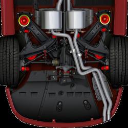 GTO 48482-HK Rear Subframe Bolt Hardware Kit (Per Pair) (Replaces 92038482)