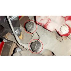 GTO 38238-HK Front Caliper Bolt Hardware Kit - 05-06 (Replaces 11518238 x4/92138897 x4)
