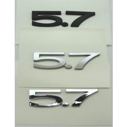 5.7L Trunk Emblem