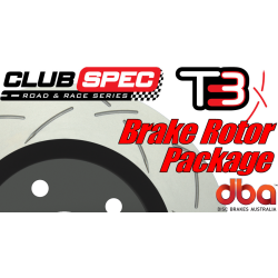GTO DBA T3 Slotted Brake Rotors - 2005-2006