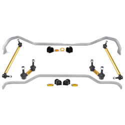 Whiteline 07-09 Pontiac G8 Front & Rear Sway Bar Set w/ Endlinks
