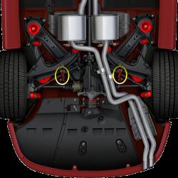 GTO 45984-HK Rear Sway Bar Link 10.9 Bolt Kit (Both Sides)